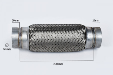 RACORD FLEXIBIL OUTERBRAID 55X200 MM