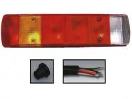 Lampa spate Scania/Iveco - 7 compartimente - stanga
