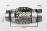 RACORD FLEXIBIL INNER & OUTER 52X120 MM