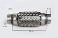 RACORD FLEXIBIL INNER & OUTER 42X150 MM