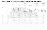 CHINGI DE RIDICARE CU GASE(URECHI) - 8 tone