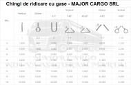 CHINGI DE RIDICARE CU GASE(URECHI) - 4 tone
