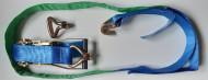 Chingi auto- 2,5 metri - carlige cu 2 gheare