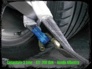 Chingi speciale pentru tractari auto - chinga 3 TONE, lungime 2,5 metri - STF 200 daN