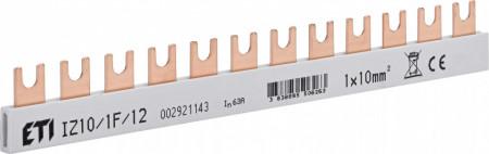 Bara pieptene tip furca, 12 module IZ10/1F/12 ETI