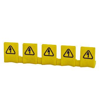 Protectie busbar tablou sigurante electrice, 5 borne