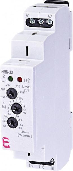 Releu de monitorizare tensiune HRN-33, ETI