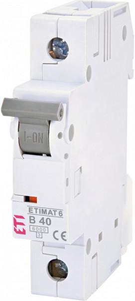 Siguranta automata ETI, ETIMAT 6 1p curba B40 eti Group
