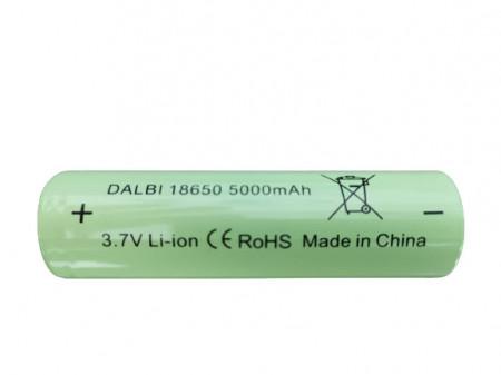 Acumulator Li-ion 3,7V - 18650,5000mAh,Dalbi