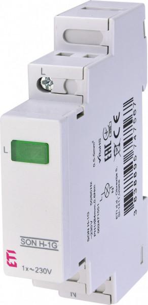 Lampa semnalizare pentru monofazat in tablou electric, ETI