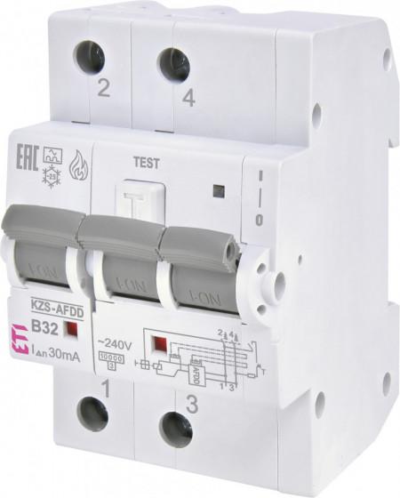 Siguranta automata AFDD KZS-AFDD 3M2p A B32/0.03 eti