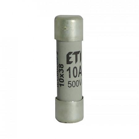 Siguranța fuzibila cilindrice CH10x38 gG 10A/500V eti