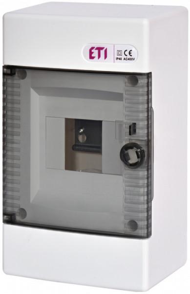 Tablou electric pe tencuiala 4 module eti