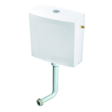 Rezervor WC semi - inaltime Wirquin Reviso 50717359, actionare dubla, 3 / 6 L, 38 x 70 cm