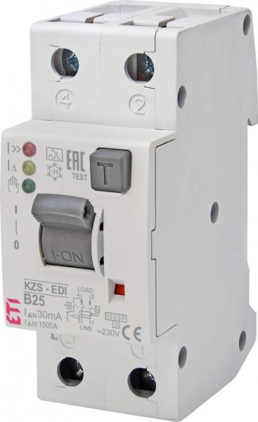 Siguranta automata diferentiala KZS-2M2p EDI A B25/0.03 ETI