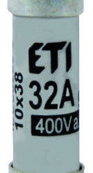 Siguranța fuzibila cilindrice CH10x38 gG 32A/400V , Joasă Tensiune ETI