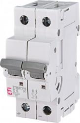 Siguranta automata 2p pentru instalatii fotovoltaice ETIMAT P10-DC 2p C6, eti