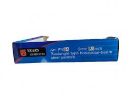 Lacat top security de santier cu tija solida din material de inalta calitate, 84mm