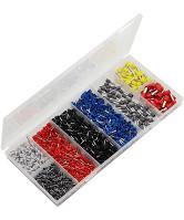 Pini ferule pentru conductori electrici 0,50 - 10 mm², 1200 bucati