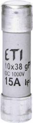Siguranța fuzibila cilindrice CH10x38 gPV 15A/1000V DC ETI