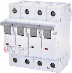 Siguranta automata trifazata ETIMAT 6 3p+N C16 ETI