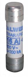 Siguranța fuzibila cilindrice ultra rapida CH10 aR 16A / 600V eti