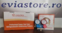 Baterie manometre presiune freon R134A,R410A,R404