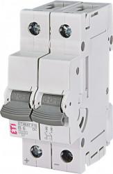 Siguranta automata 2p pentru instalatii fotovoltaice ETIMAT P10-DC 2p B6, eti