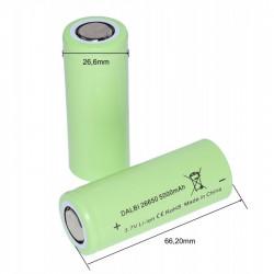 Acumulator profesional 26650 Li-ion 3,7V - 5000mAh