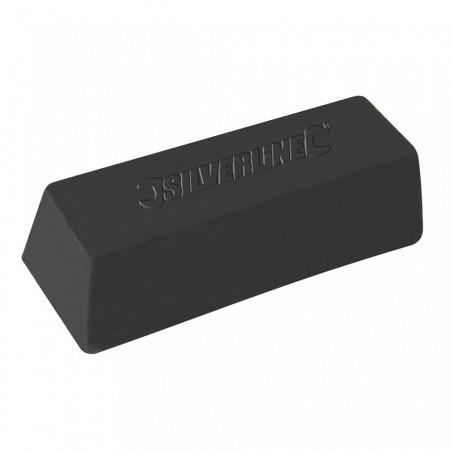 Baton ceara polisat metale, 500 gr, negru, prima etapa polisare metale tari, Silverline