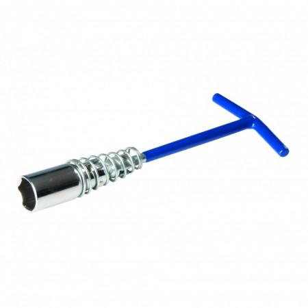Cheie tubulara pentru bujii , 21mm , Silverline Spark Plug Wrench