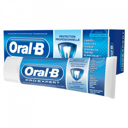 Pachet promo pasta de dinti Oral B, PRO-Expert, 3 x 75ml, protectie profesionala avansata 24h