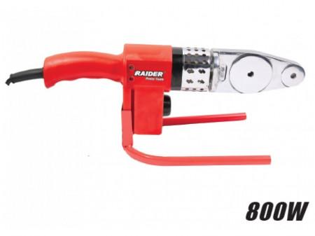 Plita lipit PPR , trusa metal , 800 W , 3 bac-uri m Raider Power Tools RD-PW01