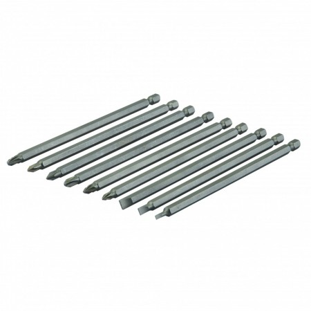 Set 9 biti lungi, 150mm, Silverline