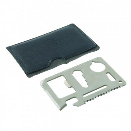 Cheie multifunctionala tip card , Silverline Credit Card Multi-Tool