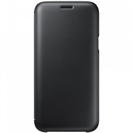 Husa de protectie Samsung Wallet Cover pentru Galaxy J5 2017, Black