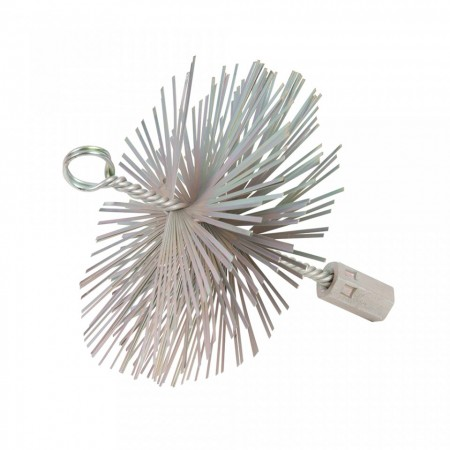 Perie metalica curatat tubulatura, 150mm, Silverline