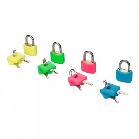 Set 4 lacate mini, valiza, cutie postala, 20mm, Silverline