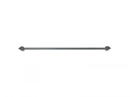 Suport perdea mini, expandabil, 60 - 80 cm, 10mm, metal, auriu, Rido Deko
