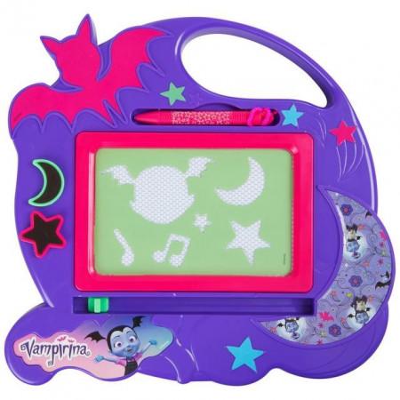 Tableta desen magnetica, sabloane, stampile, Vampirina, Disney