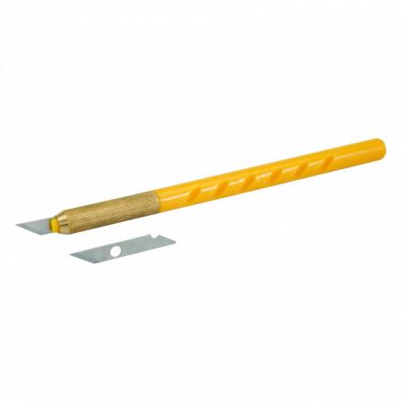 Bisturiu + 25 de lame rezerva , Silverline Scalpel & 25 Blades