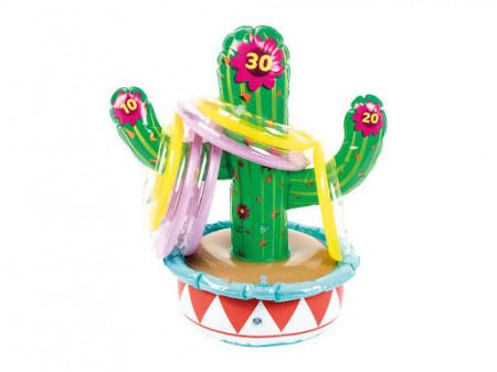 Cactus conflabil, joc inele gonflabile, 68 x 50cm, Playtive Junior