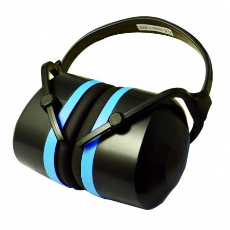 Casti de protectie pentru urechi SN33dB , Silverline Premium Folding Ear Defenders SNR 33dB
