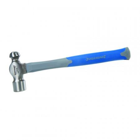 Ciocan din oțel forjat pentru tinichigerie , 32oz (907g) , Silverline Fibreglass Ball Pein Hammer