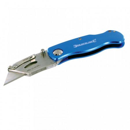 Cutter rabatabil, 10 lame, 90mm, Silverline