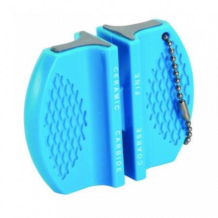 Dispozitiv de buzunar pentru ascutit cutite si foarfece, Silverline Pocket Knife Sharpener