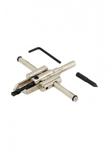 Dispozitiv reglabil taiat rigips, lemn, plastic, 30-120mm, 30mm, Silverline