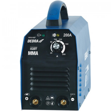 Invertor de sudura 200 A, Dedra DESI210BT, tehnologie IGBT
