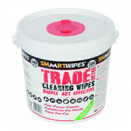 Servetele umede antibacteriene pentru curatat suprafete, 300buc, Smart Wipes