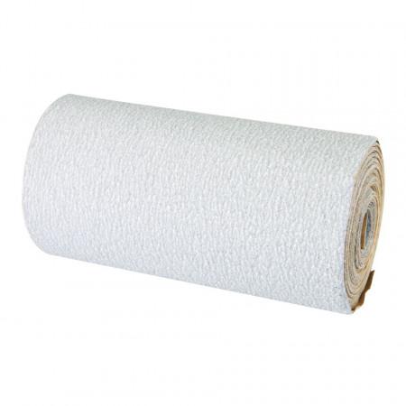 Smirghel din oxid de aluminiu , 5M , 115mm x 5m , 120 grif , Silverline Stearated Aluminium Oxide Roll 5m
